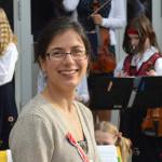 Grefsen skoles strykeorkester - dirigenten vår